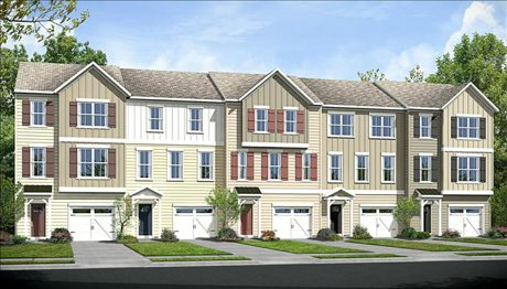 Cardiff Town Homes Exterior