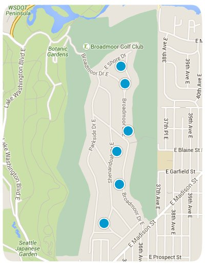 Broadmoor Interactive Map Search