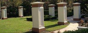 Memorial Garden in Roseville Corner in Celebration Florida