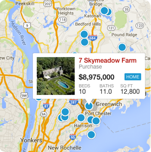 Search Westchester County Homes By Map