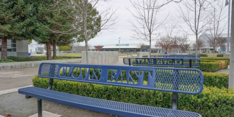 Clovis East High School Campus