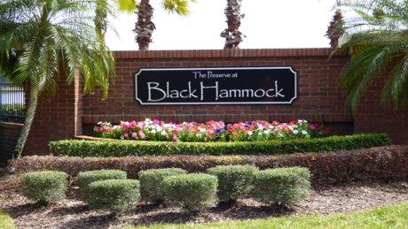 Preserve at Black Hammock Entrance
