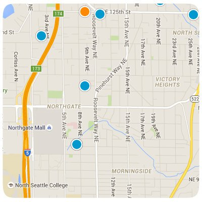 Northgate Interactive Map Search