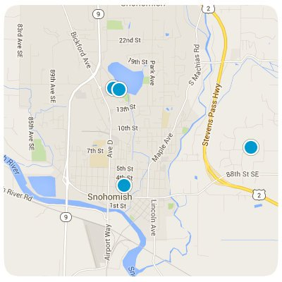 Snohomish Interactive Map Search