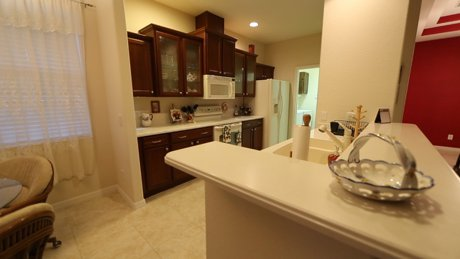 Kitchen view of 11584 Dancing River Drive in Stoneybrook