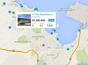 Search Kaneohe By Map