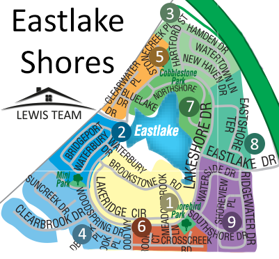 Eastlake Shores Map