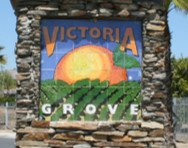 Victoria Grove Riverside CA sign