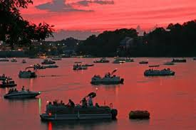 Sunset Near Lake St. Louis Homes
