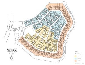 Del Sur +55 Site Plan