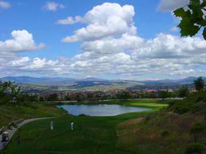 Tournament Players Club seen from Valencia Westridge