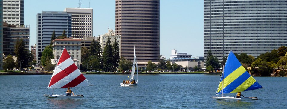 HPI Real Estate - East Bay  Sailboats on Lake Merritt