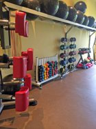 Fitness Room at Compass Pointe