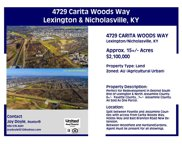 4729 Carita Woods Way, Lexington image