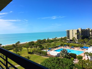 View from the balcony at Beachplace