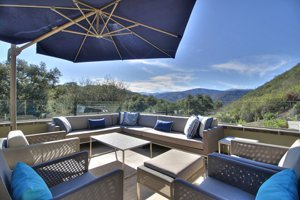 100 Via Milpitas Carmel Valley roof deck