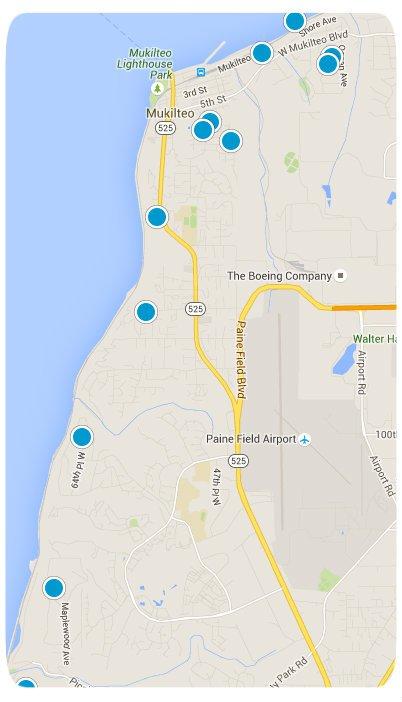 Mukilteo Interactive Map Search