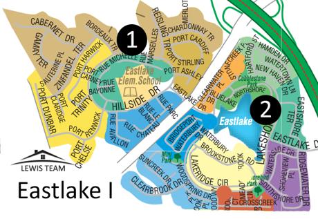 Eastlake I Map