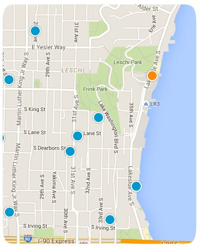 Leschi Interactive Map Search